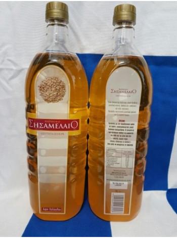 Масло кунжутное 1 л (фреш, нерафинированное, холодного отжима) Parfeno Греция