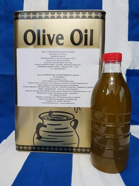"""масло оливковое EXTRA VIRGIN """"Агригелио"""" разлив"""