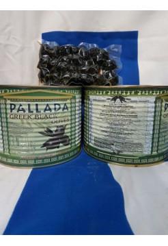 """Черные оливки """"PALLADA"""" Giants 141-160 ж/б (1,0кг) С/К"""